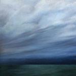 benoît Moreau 2017-Ciel/Mer VI-81 x 65 cm