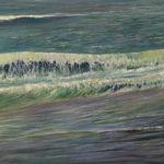 © Benoît Moreau - Vague N°112160 - Huile sur toile - 65 x 100 cm - 2020