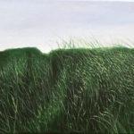 © Benoît Moreau - 2017-Dans l'herbe X - huile sur toile - -29x35cm