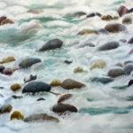 © Benoît Moreau - 2018-caillous-II-huile sur toile-73x116 cm