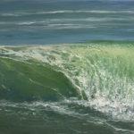 BMO - Vague n° 51115 - huile sur toile - 22 x 27 cm – 2015