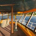 BMO - Ajaccio 6.50 AM - Huile sur toile - 113 x 165 cm - 2012