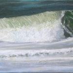 © Benoît Moreau - Vague n°1816 - huile sur toile - 22 x 27 cm – 2016 - collection particulière - Allemagne