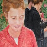 © Benoît Moreau - Au mariage...- Huile sur toile - 116 x 73 cm – 2013