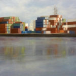 BMO - Containers II - Huile sur toile - 65 x 100 cm – 2015