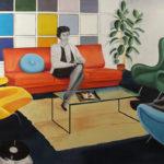 © Benoît Moreau - Déco – huile sur toile – 130 x 200 cm
