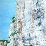 © Benoît Moreau - Falaises côté Yport - huile sur toile - 60 x 40 cm - 2006 Collection particulière – France