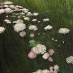 © Benoît Moreau - Grandes Herbes - huile sur toile - 200x86 cm - 2018