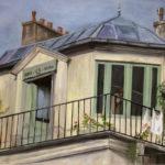 © bmo - La maison de Mon Oncle - -Huile sur toile - 80 x 100 cm
