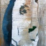 © Benoît Moreau - Paréidolie N°4 - huile sur toile - 150 x 50cm- 2020