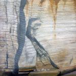 © Benoît Moreau - Paréidolie N°12 - huile sur toile - 42x42 cm- 2021