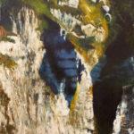 © Benoît Moreau - Paréidolie N°1 - huile sur toile - 116 x 73cm- 2020