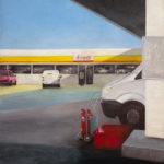 © Benoît Moreau - Station - huile sur toile – 80x65 cm – 2010