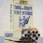 © Benoît Moreau - Troupes - Huile sur toile - 35 x 27 cm - 2015