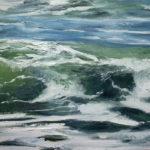 © Benoît Moreau - Vague n°10119 - huile sur toile - 22 x 27 cm – 2019