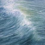 © Benoît Moreau - Vague n°51219 - huile sur toile - 22 x 27 cm – 2019