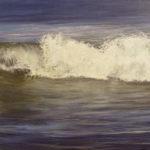 © Benoît Moreau - Vague n°21113 - huile sur toiles - 65 x 100 cm - 2013 - Collection particulière