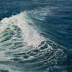 © Benoît Moreau - Vague n°41120 - huile sur toile - 22 x 27 cm – 2020