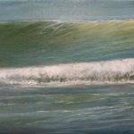 BMO - Vague n°4813 - huile sur toile - 22 x 27 cm – 2013