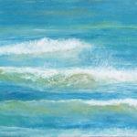 BMO - Vague n°1110 - huile sur toile - 22 x 27 cm – 2010