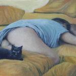 BMO - Chuuut ! Huile sur toile 27 x 35 cm - 2006