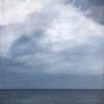 © Benoît Moreau - Ciel/mer - huile sur toile - 80 x 65 cm - 2010