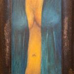 BMO - entr'acte -2005 - huile sur toile 24 x 39 cm