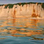 © Benoît Moreau - 2020 - Falaises- reflets -100 x 200 cm - huile sur toile