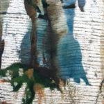 © Benoît Moreau - Paréidolie N°5 - huile sur toile - 116 x 73cm- 2020
