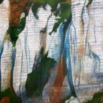 © Benoît Moreau - Paréidolie N°7 - huile sur toile - 120 x 120 cm- 2021