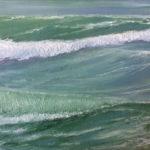 BMO - Vague n°3816 - huile sur toile - 22 x 27 cm – 2016