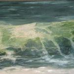© Benoît Moreau - Vague n° 11113 - huile sur toile - 65 x 100 cm – 2013 - Collection particulière/France