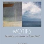 Motifs - Avec Ralph Resh - Galerie 45 Montreuil 2O13
