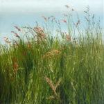 © Benoît Moreau - Dans l'herbe II - Huile sur toile - 42x42 cm - 2016 - collection particulière - France