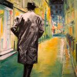 © Benoît Moreau - Rue Git-le-Cœur – Huile sur toile- 73 x 54 cm - 2015