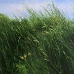 © Benoît Moreau - Dans l'herbe III-huile sur toile -29x35cm - collection particulière - France