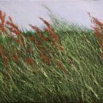 2017-Herbes folles IV- huile sur toile - 29x35cm